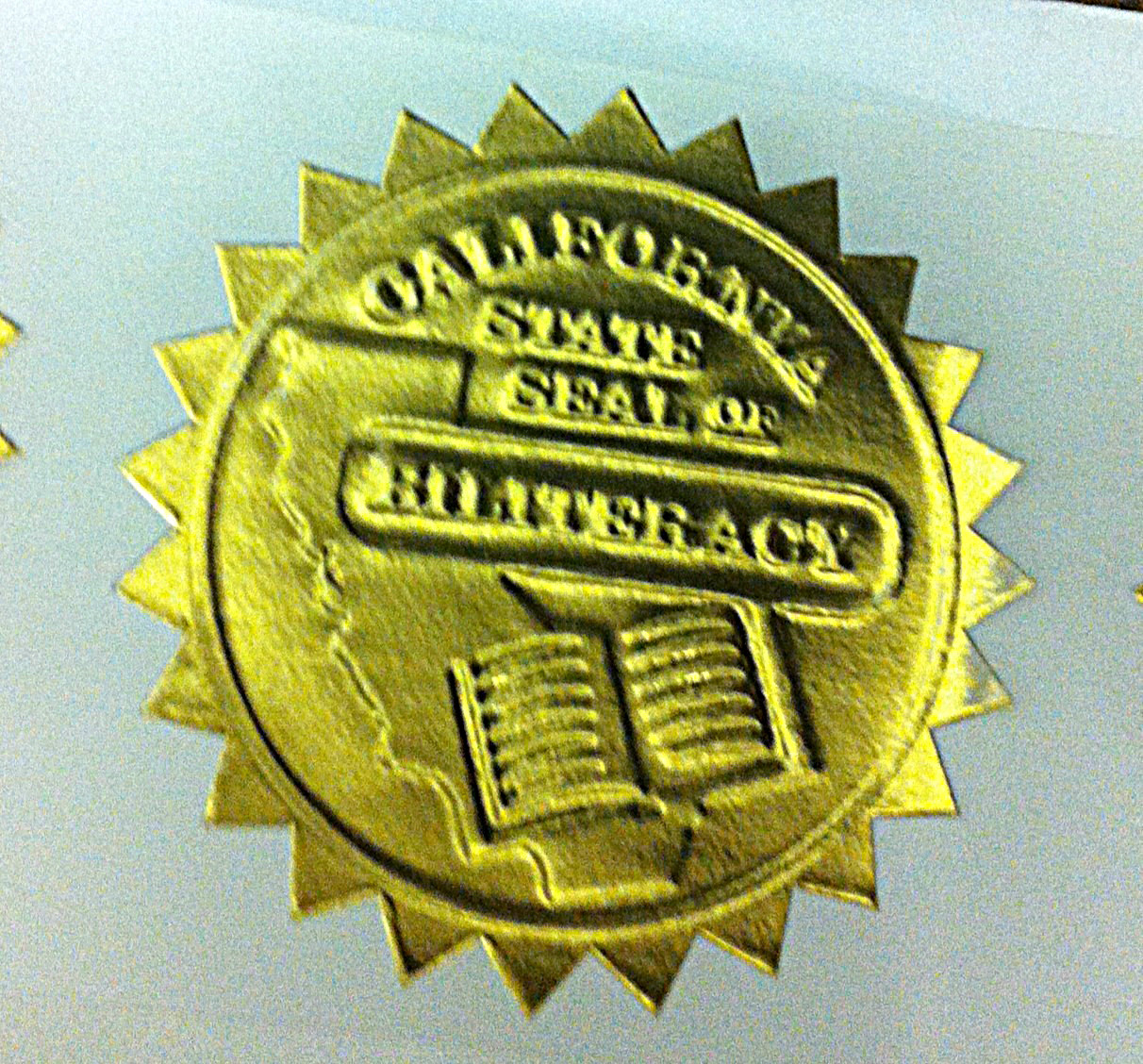California State Seal of Biliteracy